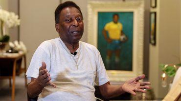 La légende du football brésilien Pelé souffre de graves problèmes de hanche