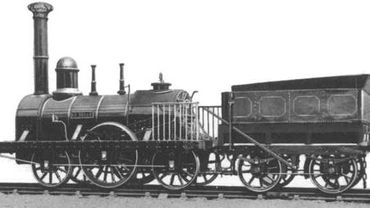 Locomotive sortie en 1835