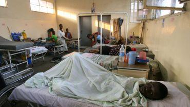 Illustration dans un hôpital général à Kinshasa, 03 juin 2006.