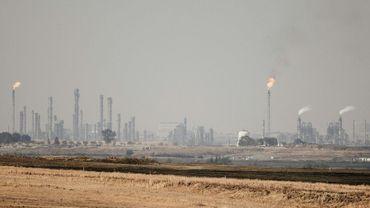 Une unité de production de pétrole de synthèse obtenu à partir de charbon, à Secunda, en Afrique du Sud, le 6 septembre 2018