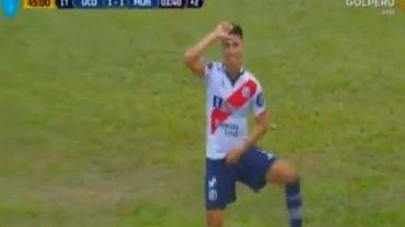 Un footballeur péruvien imite la danse de Griezmann: carton jaune