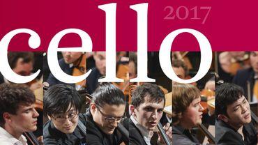 Le coffret du Concours Reine Elisabeth de violoncelle 2017