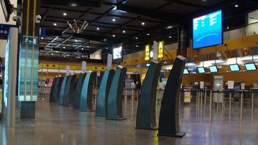 Hall du Terminal 1 de l'aéroport de Charleroi