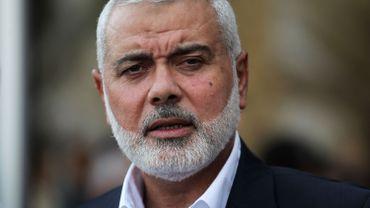 Le chef de file du Hamas Ismaïl Haniyeh le 19 septembre dernier à Gaza.
