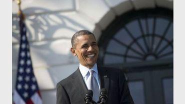 Le président américain Barack Obama, le 20 avril 2012 à Washington