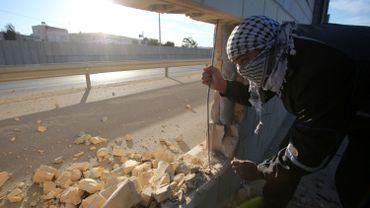 Mur de Berlin: une brèche symbolique dans le mur israélien (photos)