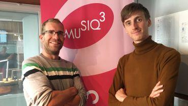 Stein Verrelst (à gauche) et Maarten Vandenbemden sont nos invités ce midi.