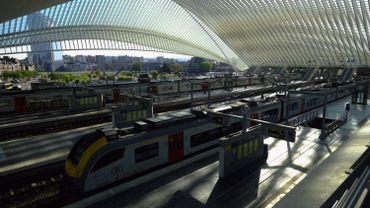 La circulation des trains est interrompue entre Liège et Louvain