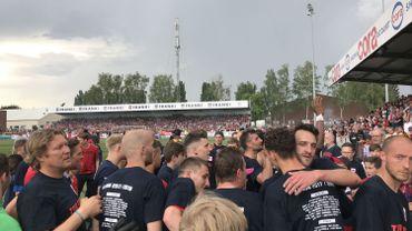 Le FC Liège rejoint la division 1 amateur devant 4000 supporters