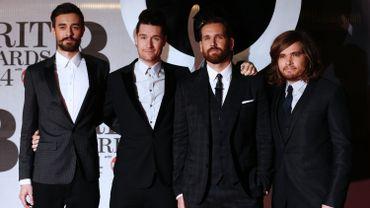 """Kyle J Simmons, Dan Smith, William Farquarson et Chris """"Woody"""" Wood du groupe britannique Bastille"""