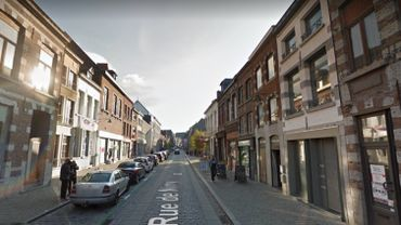 La rue de Nimy à Mons