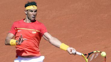 Coupe Davis - Nadal domine Zverev et ramène l'Espagne à égalité