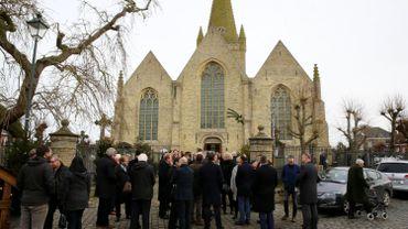De nombreuses personnalités étaient présentes aux funérailles.