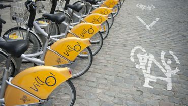 De plus en plus de cyclistes à Bruxelles !