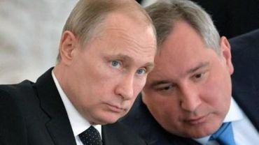 """Les chars russes """"n'ont pas besoin de visa"""" pour l'Europe, lance un haut responsable russe"""