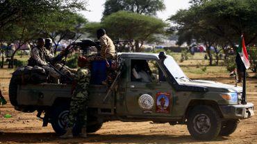Membres de la milice soudanaise chargée, entre autres, du contrôle des frontières