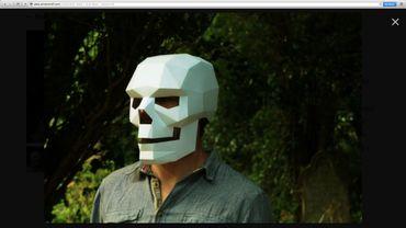 Masque crâne par wintercroft.com