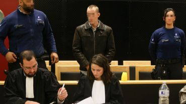 Quentin Hottat photographié lors de son procès.