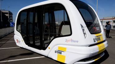 Un bus électrique autonome de De Lijn