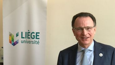 Pierre Wolper, nouveau recteur de l'Université de Liège