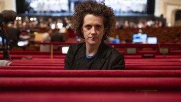 La compositrice Olga Neuwirt, lors des répétitions d'Orlando à l'opéra de Vienne.