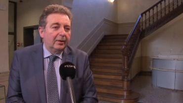 Rudy Vervoort, ministre-président de la Région bruxelloise