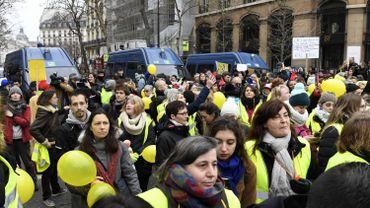 France: les autorités françaises redoutent une mobilisation plus forte et plus radicale lors de l'Acte 9 des gilets jaunes