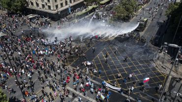Manifestation à Santiago ce mercredi