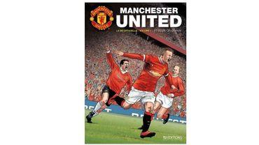 La couverture du livre sur Manchester United