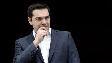 Le Premier ministre grec Alexis Tsipras à Athènes le 11 avril 2016.