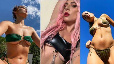 Bella Hadid, Lady Gaga et Rita Ora sur Instagram