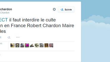 """Un maire UMP dérape : """"Il faut interdire le culte musulman en France"""""""