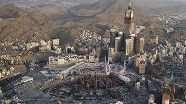 La grande mosquée à la Mecque en Arabie Saoudite