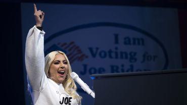 Lady Gaga avait chanté lors de la campagne pour le candidat Joe Biden