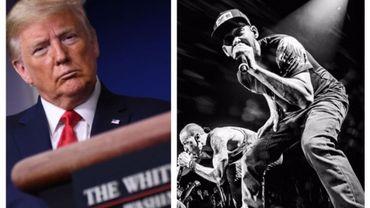 Linkin Park fait désactiver un tweet de Donald Trump