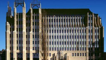 Le Marquis, immeuble de la Communauté Flamande à Bruxelles