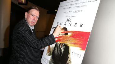 Timothy Spall a reçu le prix d'interprétation masculine au dernier Festival de Cannes, pour son incarnation du peintre Turner
