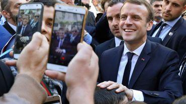 Visite du président français Emmanuel Macron à Alger, le 6 décembre 2017