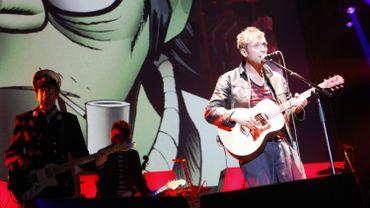 Gorillaz avec Damon Albarn en concert