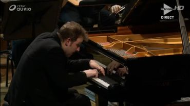 Lukas Vondracek en plein Concerto n.3 de Rachmaninov