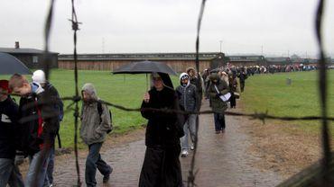 L'artiste dit avoir ramassé des cendres au camp de Majdanek