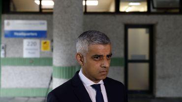 Le maire de Londres Sadiq Khan