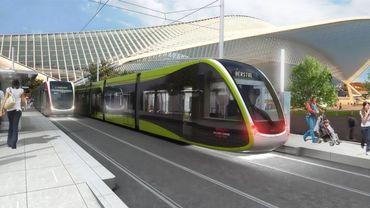 Le futur tram liégois