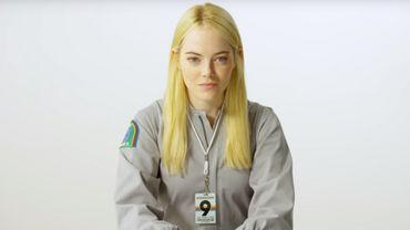 """Emma Stone donnera la réplique à Jonah Hill dans """"Maniac"""", dix ans après """"Supergrave""""."""