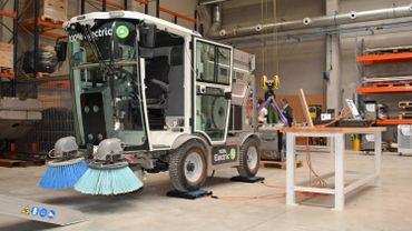 Glutton inaugure sa nouvelle usine à Andenne pour produire sa balayeuse de rue électrique