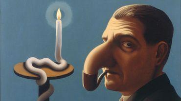 """""""La Lampe philosophique"""" de René Magritte"""
