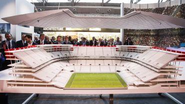 La maquette du Stade National