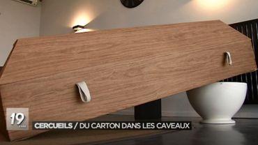 Plusieurs sociétés belges proposent déjà ce type de cercueils
