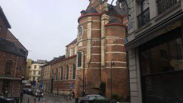 Bruxelles: son aile classée, l'Eglise des Riches-Claires va pouvoir se refaire une beauté