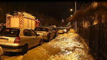 Importante fuite d'eau au Square Riga